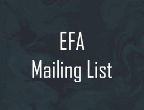 EFA Mailing List