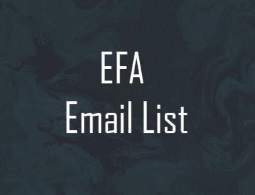 EFA Emai List