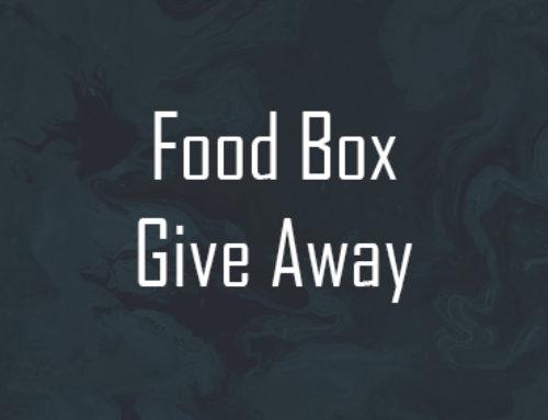 Food Box Give Away