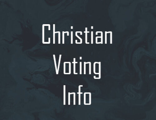 Christian Voting Information