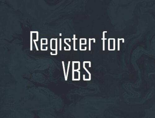 Register for VBS