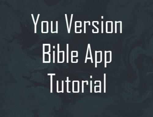 You Version Bible App Tutorial